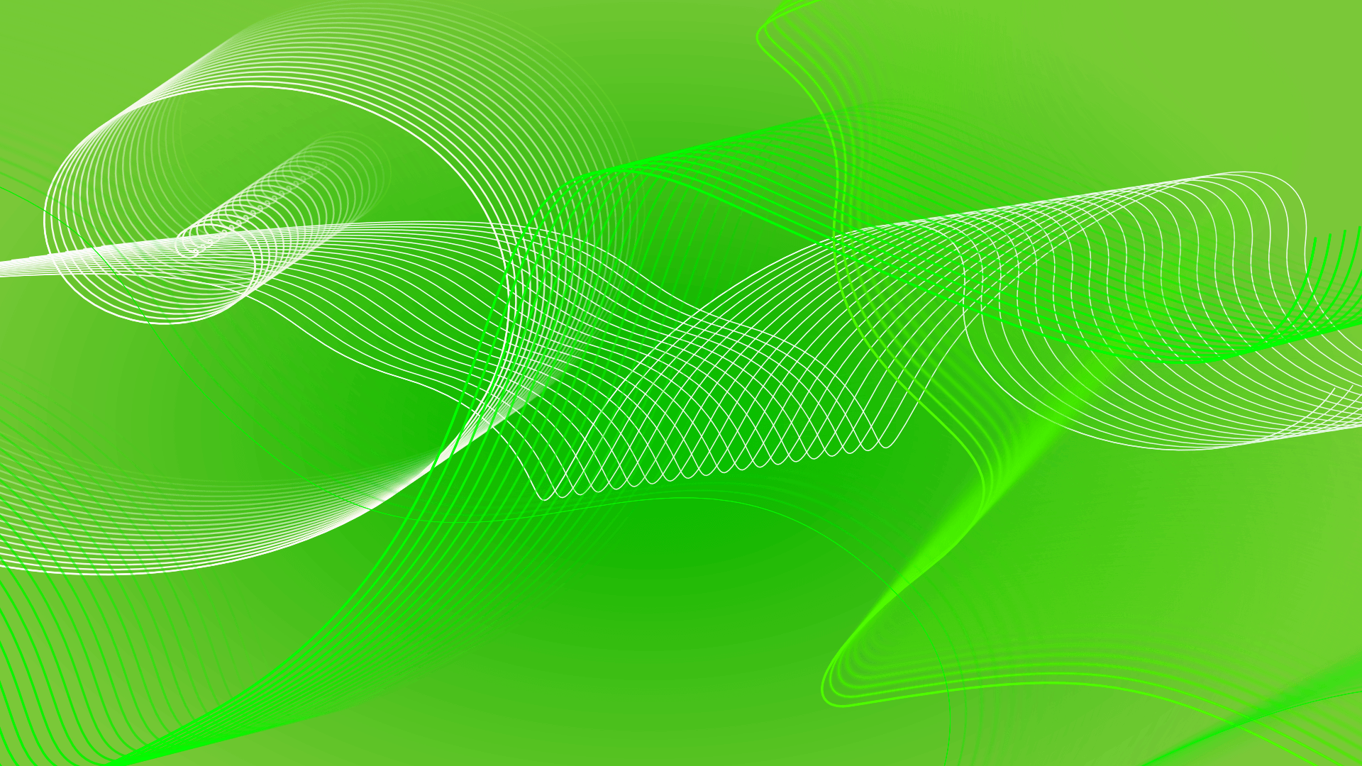 Set green spirals as background image