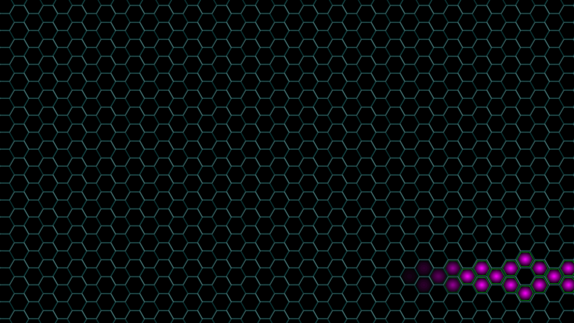 Set dark site hexagon background decoration